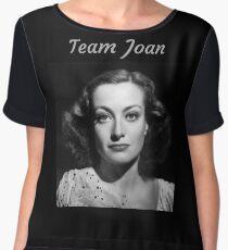 Team Joan Crawford Forever! Chiffon Top