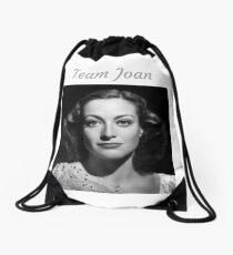 Team Joan Crawford Forever! Drawstring Bag