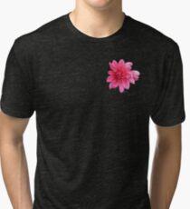 Flower pink 3817 Tri-blend T-Shirt