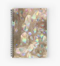 Unicorn Horn Aura Crystals Spiral Notebook