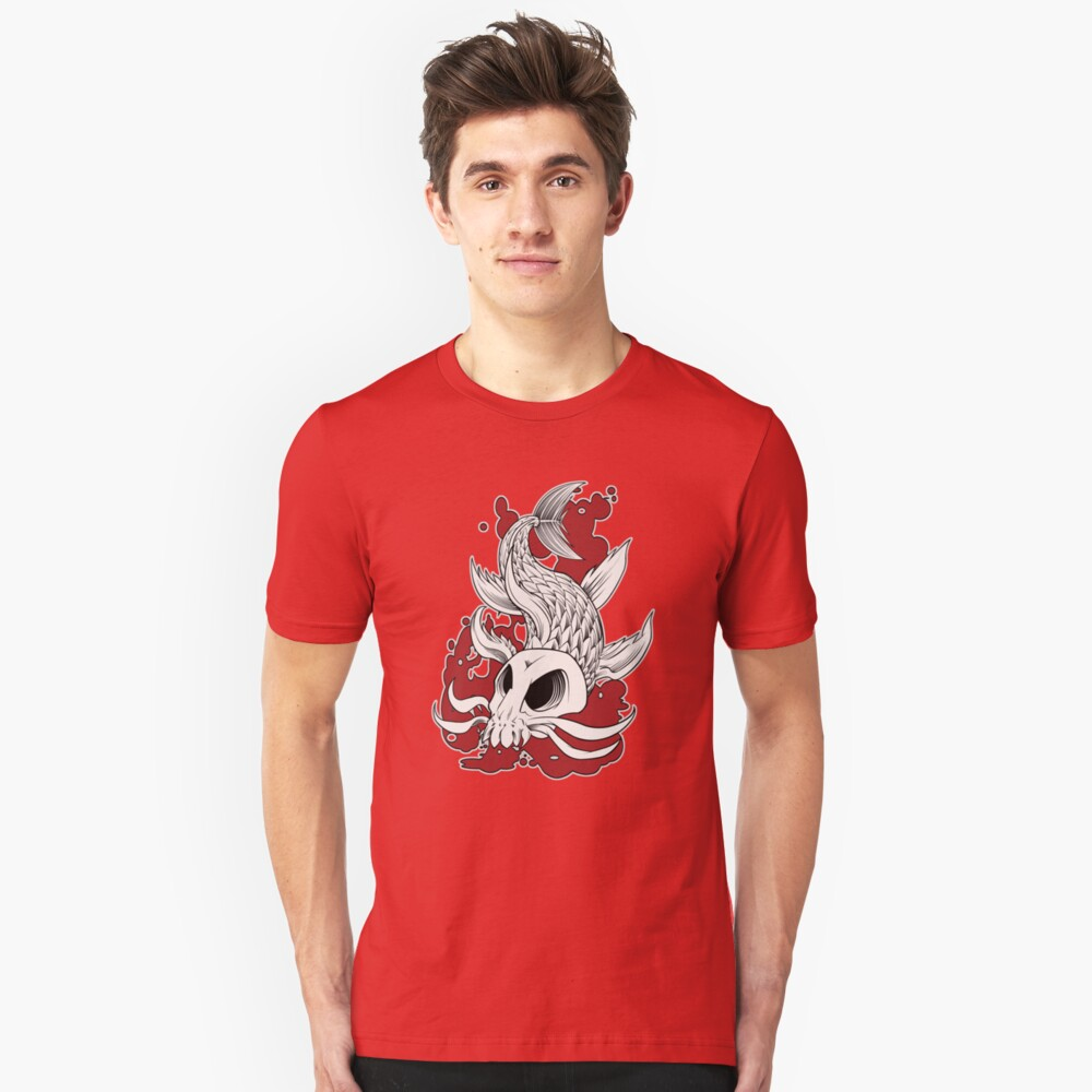 Blood in the Water Unisex T-Shirt Front