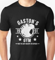Gaston's Gym (White Version) Unisex T-Shirt