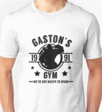 Gaston's Gym (Black Version) Unisex T-Shirt