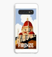 1930 Florence Italy Travel Poster Case/Skin for Samsung Galaxy