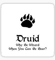 DnD - Druid Sticker
