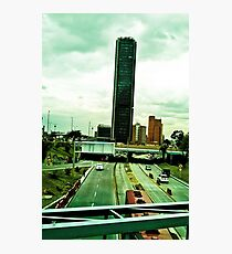 In the vastness of the city. Photographic Print