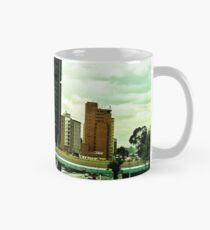 In the vastness of the city. Mug