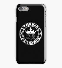 seattle grunge 2 iPhone Case/Skin