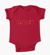 Sanvers |Sawyer and Danvers| pattern - orange Kids Clothes