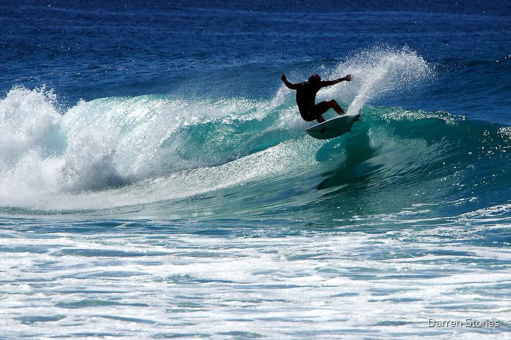 Surfing at Dalmeny by Darren Stones