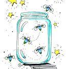 """Fireflies"" by Winterberry  Farm Studio"