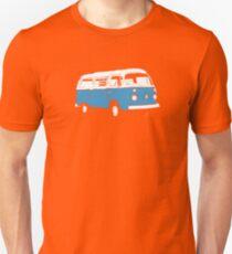New Bay Campervan Blue Unisex T-Shirt