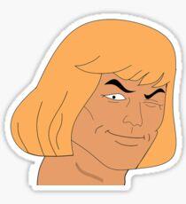He-Man Eye Wink Sticker
