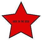 red star back to the ussa by Val Goretsky
