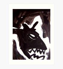 Horsey 4 Art Print