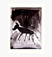 Horsey 5 Art Print