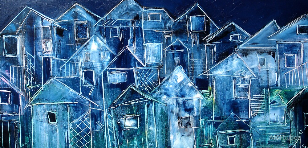 """ART by bec """"Silence Descends"""" by ARTbybec"""