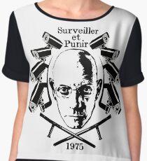 Foucault - Discipline and Punish Chiffon Top