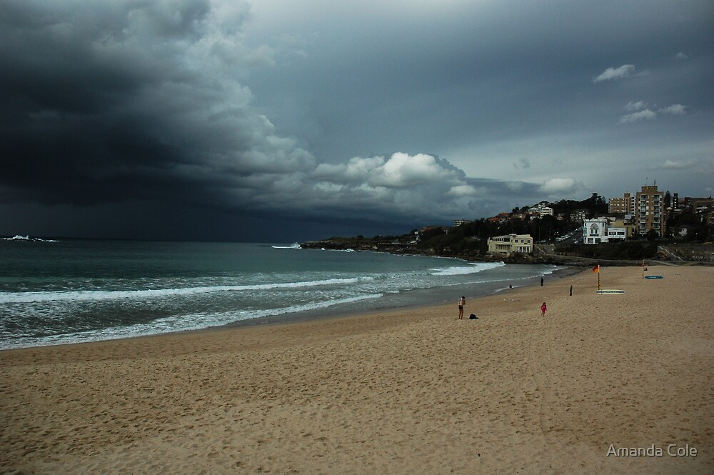 Coogee Beach Storm by Amanda Cole