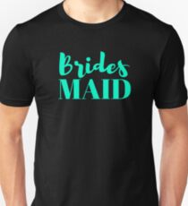 Bridesmaid Bachelorette Party Wedding T-Shirt