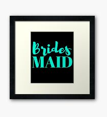 Bridesmaid Bachelorette Party Wedding Framed Print