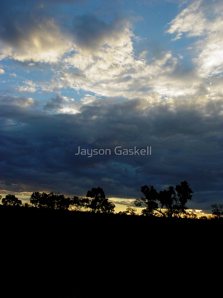 Somewhere between here and Darwin by Jayson Gaskell