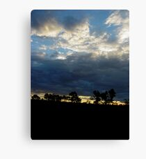 Somewhere between here and Darwin Canvas Print