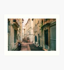 Late Afternoon - Montpellier - France Art Print