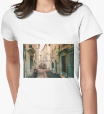 Late Afternoon - Montpellier - France Women's Fitted T-Shirt