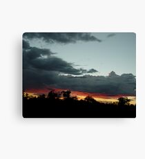 Somewhere between here and Darwin 2 v2 Canvas Print