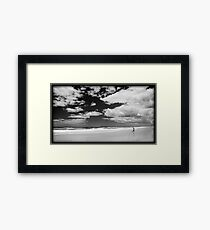 On His Own Framed Print
