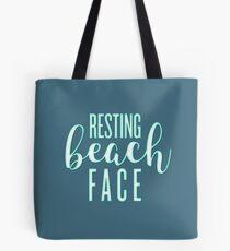 Ruhendes Strandgesicht Tasche