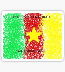 LE CAMEROUN Sticker