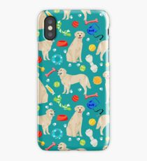 Golden Retriever pet friendly dog breeds dog toys cute dog gifts for dog lovers by PetFriendly iPhone Case/Skin