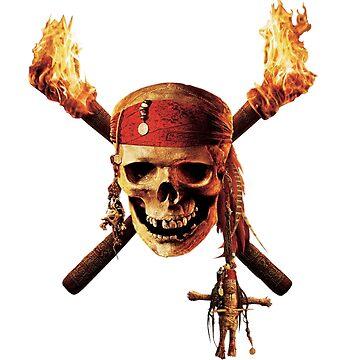 Pirate skull shirt by alexonboard