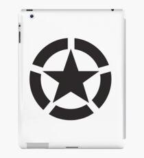 Allied Star (Black) iPad Case/Skin
