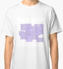 'Cubicle' Abstract Minimalist Artwork Classic T-Shirt