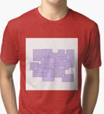 'Cubicle' Abstract Minimalist Artwork Tri-blend T-Shirt