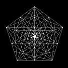Abstract Geometry: The Pentagon (White) by Thomas Erlandsen