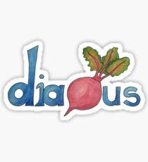 Dia-Beet-Us Sticker
