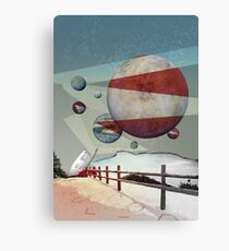 Space Art - Exoplanet Trappist-1 Canvas Print
