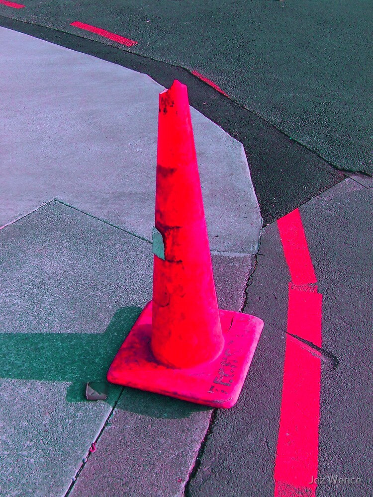 Cone that is Pink by Jez Wence
