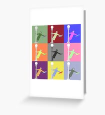 gene kelly from singing in the rain Greeting Card