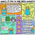 Living With Anxiety by Introvert Doodles