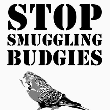 Stop smuggling budgies by ArtbyCowboy