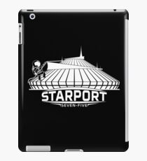 Mt. Space (WHITE) iPad Case/Skin