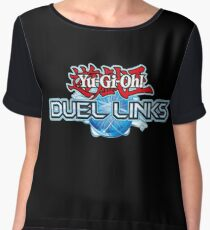 Yu-Gi-Oh! Duel Links logo Chiffon Top