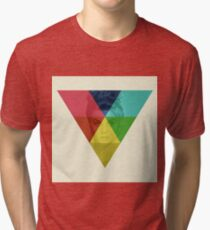 retro layered image of anne margaret Tri-blend T-Shirt