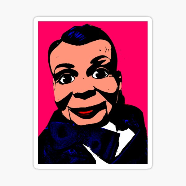 VENTRILOQUIST DUMMY Sticker