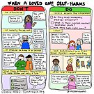 When A Loved One Self-Harms by Introvert Doodles